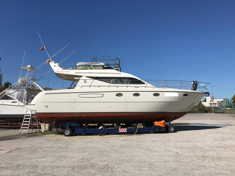 Carnevali 42 Marina di Ravenna Adriatico Barca Usata Motori Cat 435